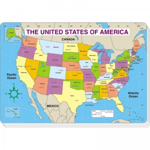 JUMBO MAP PAD US LABELED 30/PK  16 X 10-3/4