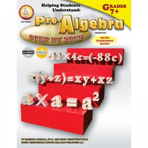 HELPING STUDENTS UNDERSTAND ALGEBRA  PRE-ALGEBRA 7& UP