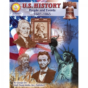 US HISTORY PEOPLE & EVENTS 1607-  1865 RESOURCE BOOK