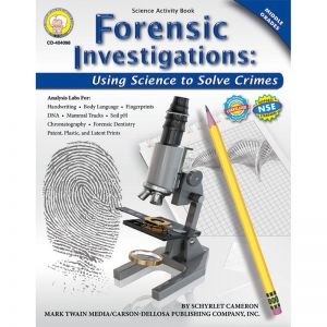 (2 EA) FORENSIC INVESTIGATIONS ACTIVITY BOOK GR 4-8