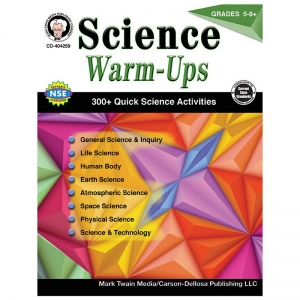 Science Warm-Ups, Grades 5-8+