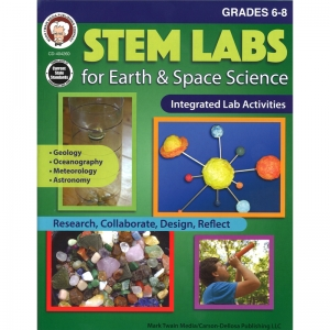 STEM LABS EARTH SPACE SCI BK GR 6-8