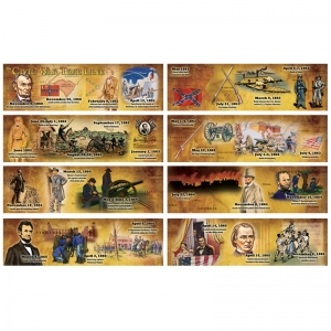 THE CIVIL WAR TIME LINE MINI BB SET