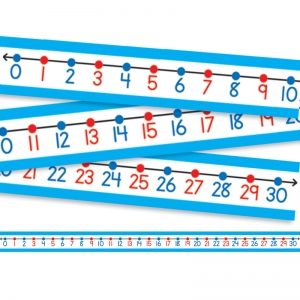 STUDENT NUMBER LINES 30/PK  22 X 1-1/2 NUMBERS 0-30