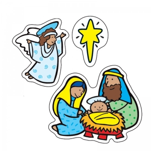The Nativity Stickers