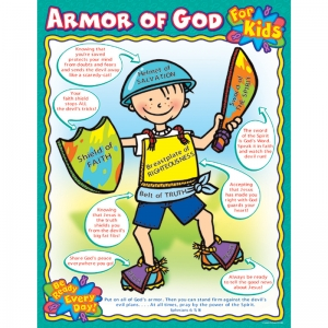 ARMOR OF GOD FOR KIDS CHART
