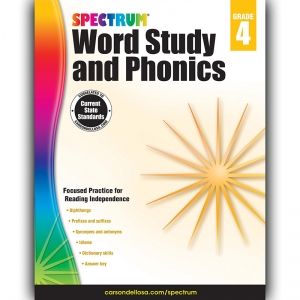 SPECTRUM GR 4 WORD STUDY AND  PHONICS