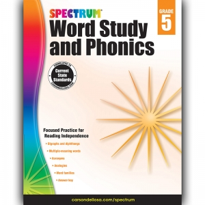 SPECTRUM GR 5 WORD STUDY AND  PHONICS