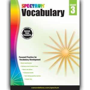 SPECTRUM VOCABULARY GR 3