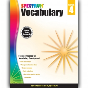 SPECTRUM VOCABULARY GR 4