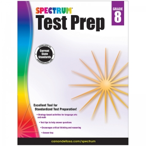 SPECTRUM TEST PREP GR 8 WORKBOOK