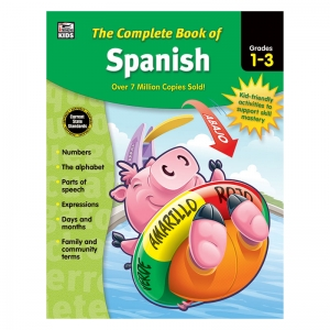 Complete Book of Spanish, Grades 1  3