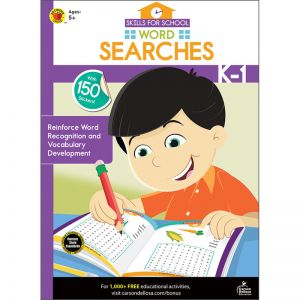 Skills for School Word Searches, Grades K  1, Pack of 6