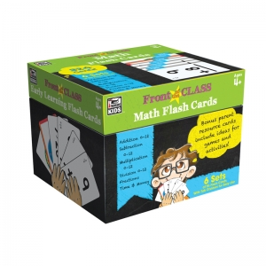 MATH FLASH CARDS GR PK-3