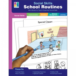 Social Skills MiniBooks School Routines Resource Book, Grade PK2, Paperback