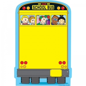 SCHOOL BUS NOTE PAD 50 SHEETS