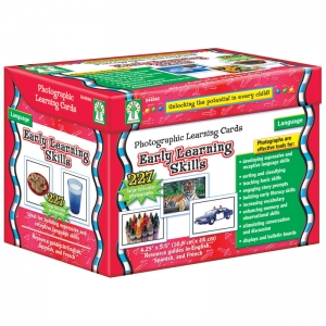 EARLY LEARNING SKILLS LEARNING  CARDS SET