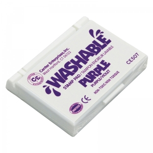 STAMP PAD WASHABLE PURPLE