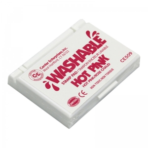 STAMP PAD WASHABLE HOT PINK