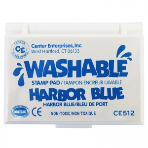STAMP PAD WASHABLE HARBOR BLUE