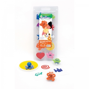 READY2LEARN GIANT IMAGINATIVE PLAY  SET 1 STAMPS