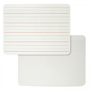LAP BOARD 9 X 12 PLAIN LINED WHITE  SURFACE 2 SIDED