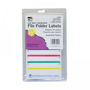FILE FOLDER LABELS ASSORTED 248/PK