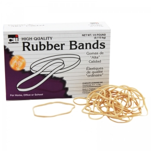 RUBBER BANDS 3 X 1/32 X 1/16 1/4 LB  BOX