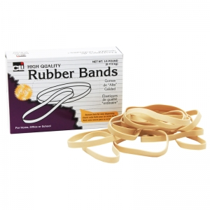 RUBBER BANDS 3 1/2 X 1/32 X 1/8 1/4  LB BOX
