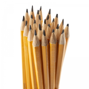 PENCIL #2 LEAD PRE-SHARPENED W/ ERA  YELLOW 12/BOX