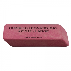 12/BX LARGE PINK ECONOMY WEDGE  ERASERS