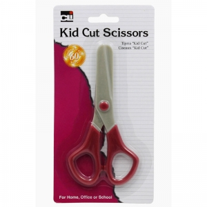 SCISSORS KID CUT PLASTIC ASST  COLORS