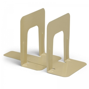 BOOKENDS 1 PAIR 9IN HEIGHT TAN