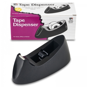 DESK TAPE DISPENSER BLACK