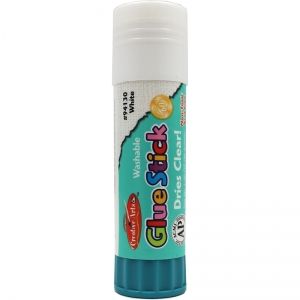 ECONOMY GLUE STICK 1.3OZ CLEAR