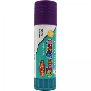 ECONOMY GLUE STICK 1.3OZ PURPLE