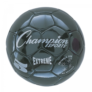 SOCCER BALL SIZE 5 COMPOSITE BLACK