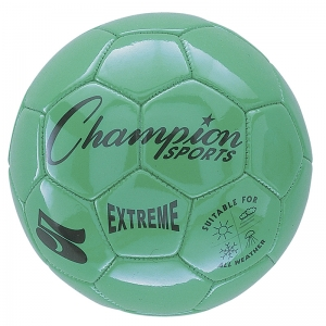 SOCCER BALL SIZE 5 COMPOSITE GREEN