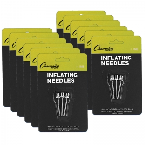 Inflating Needles for Air Pump, 3 Per Pack, 12 Packs