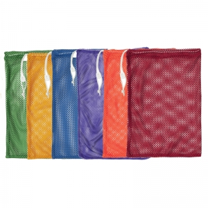 EQUIPMENT BAG SET OF 6 MESH ASST SM