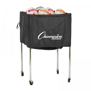 VOLLEYBALL CART FOLDING 30 VOLLEYBALLS ALUMINUM