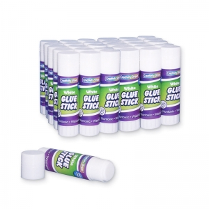 GLUE STICKS 30 CLEAR .28 OZ