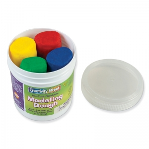 Creativity Street Modeling Dough, 4 Primary Colors Assortment, 3 oz.ea., 4 Pieces