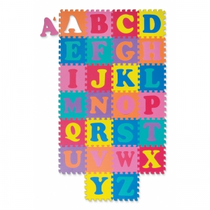 WONDERFOAM ALPHABET PUZZLE 52 PCS  MAT 10 X 10