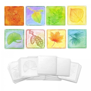 EMBOSSED PAPER LEAF COLLECTION