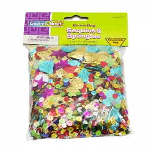 SEQUINS & SPANGLES 4 OZ.