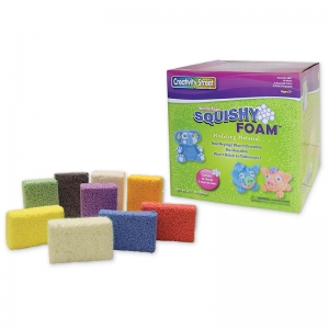 SQUISHY FOAM - 36 COLORED PCS