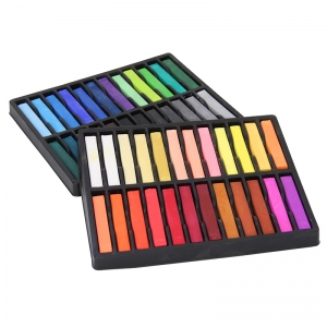 QUALITY ARTISTS SQUARE PASTELS 48  ASSORTED PASTELS