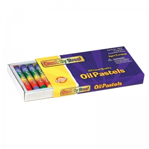 OIL PASTELS REGULAR 12-PK