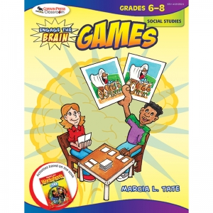 ENGAGE THE BRAIN GAMES SOCIAL  STUDIES GR 6-8